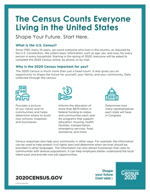 Cover The Census Counts Everyone Living in the United States